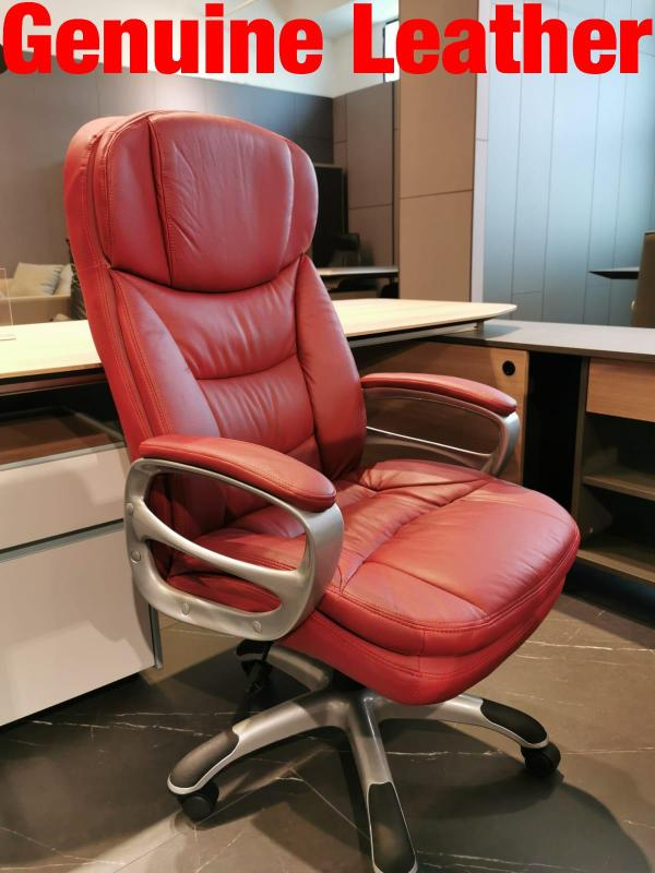 (Can Opt for Self-Collection)UMD Genuine Leather Boss Chair 7558/338/501/504/335 (1 Year Warranty & Free Installation) Singapore