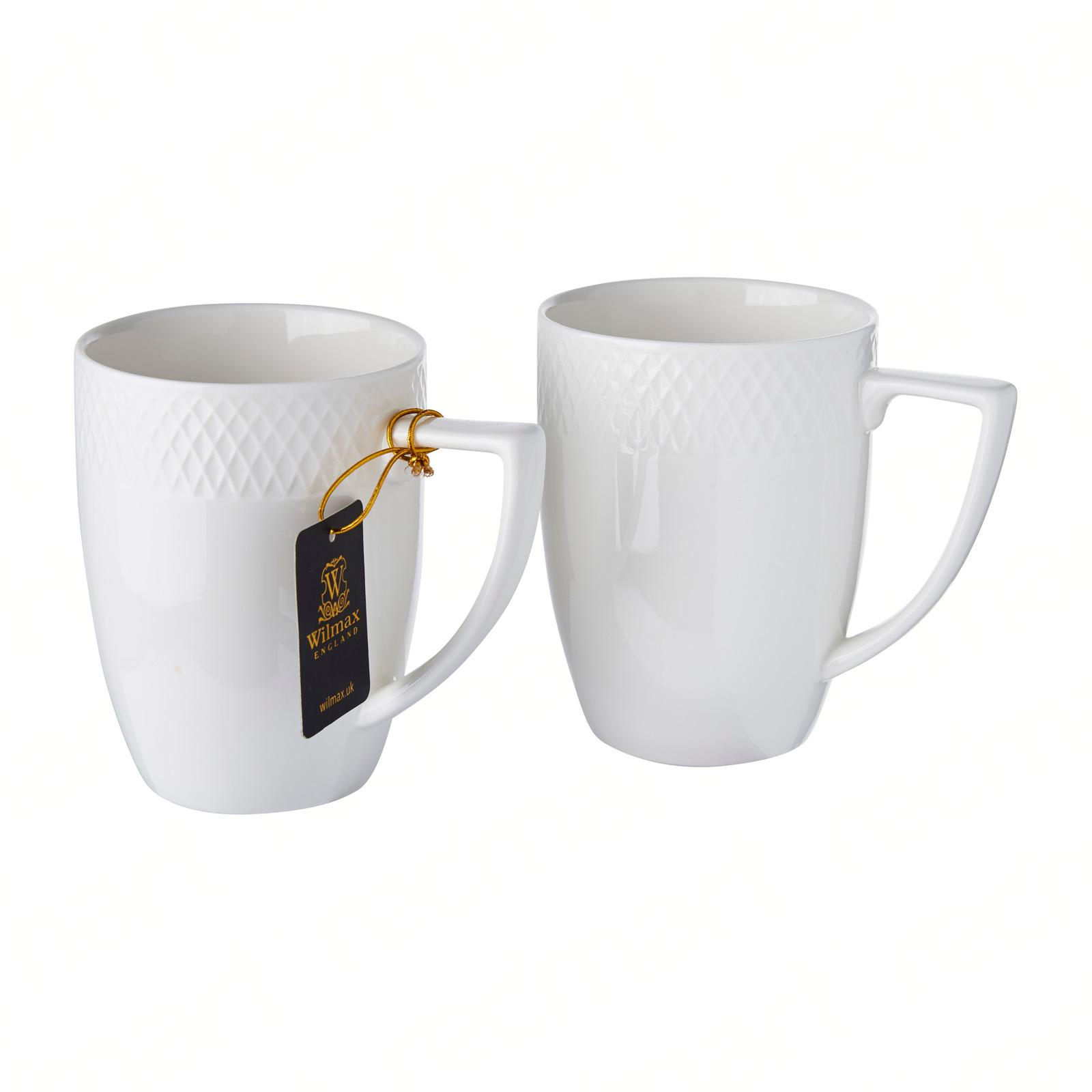 Wilmax England Porcelain Mug 2Pcs Set 450ml