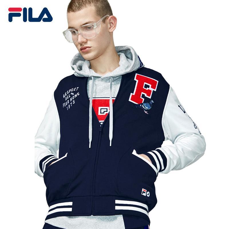 d605d7f5c FILA Zip Jacket/FILA X STAPLE Bomber Jacket Men/Sports Jacket
