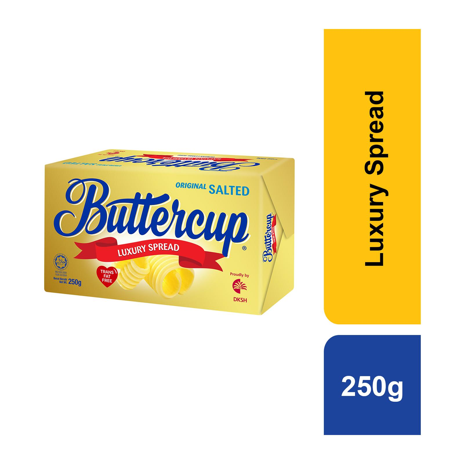 BUTTERCUP Butter Spread Block - Original Salted 250g