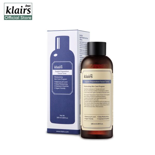 Buy Klairs Supple Preparation Facial Toner 180ml Singapore