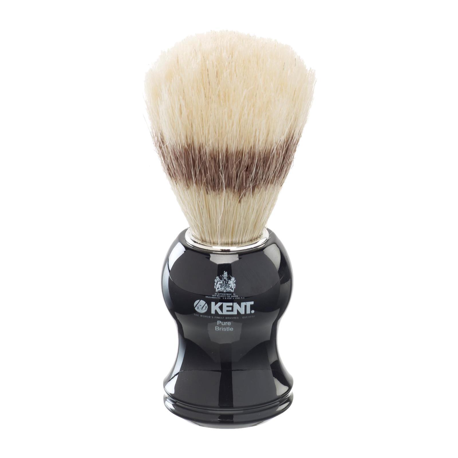Kent Brushes Black Shaving Brush VS60