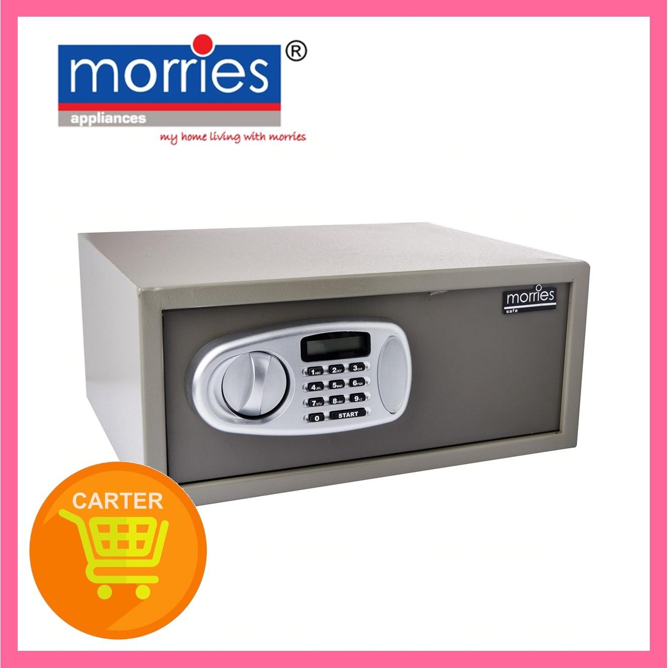 Lowest Price - Morries Electronic Safe MS45DW 14kg (Light grey)