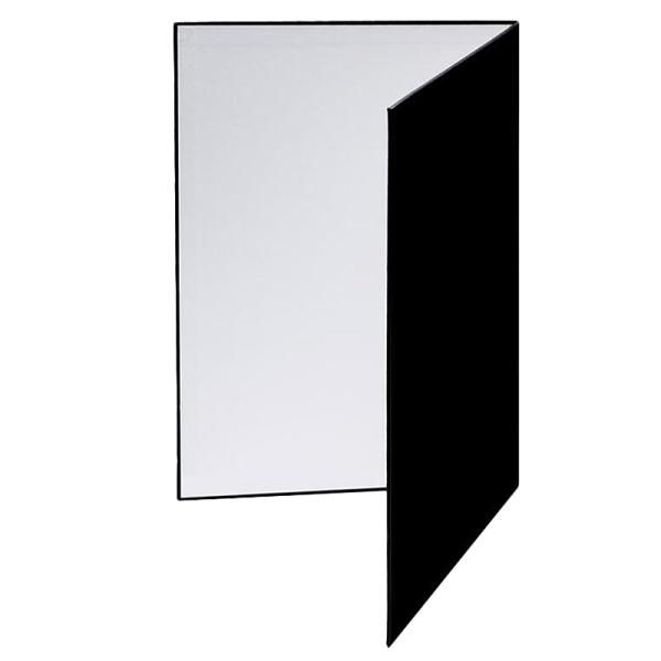 Giá A3 Foleto Photography Cardboard Folding Reflector Black Silver White Thick Paper Book Board Reflective for Camera Photo