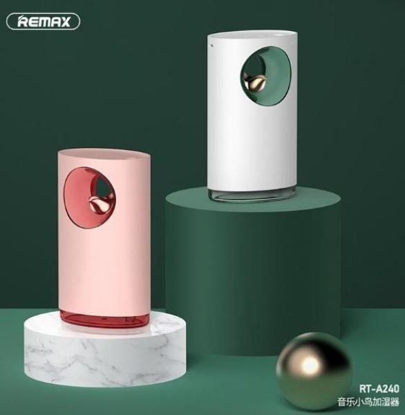 #888 REMAX Music Bird USB Humidifier Atmosphere Background Sound Mini Air Water Spray of Humidifier RT-A240 Singapore