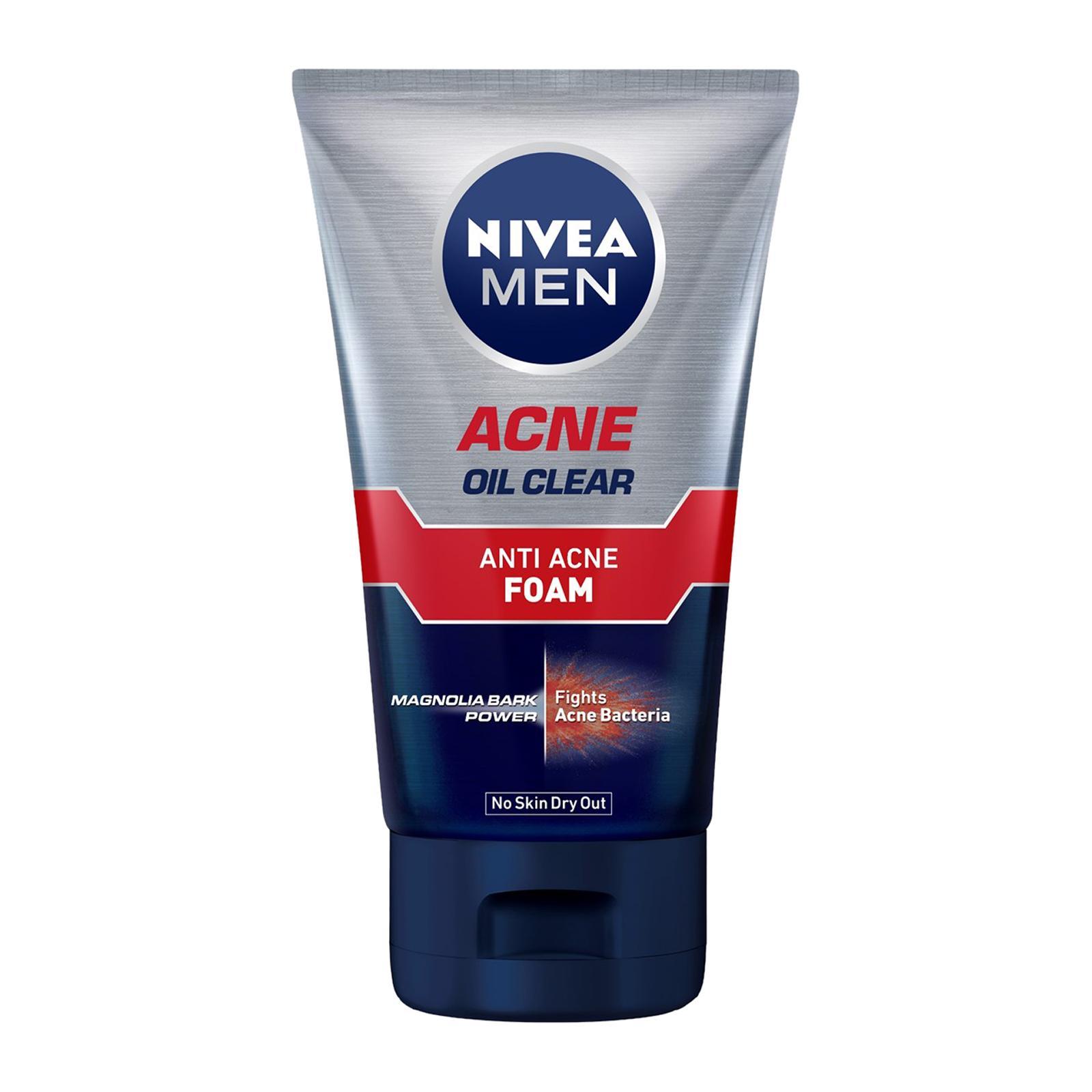 Nivea Men Acne Oil Clear Anti Acne Foam