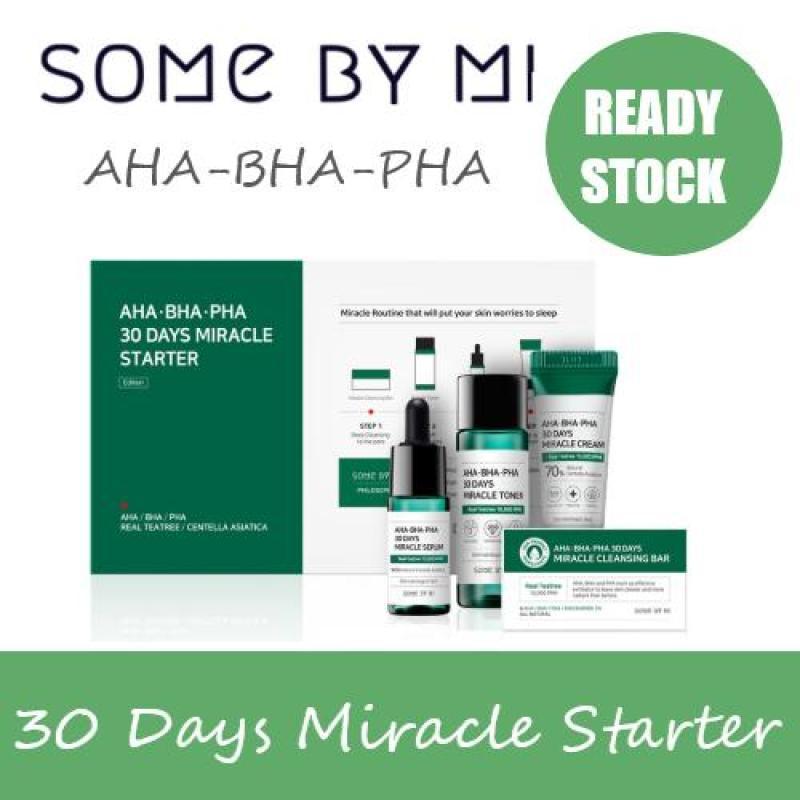 Buy [SOMEBYMI] SOME BY MI  AHA BHA PHA 30 DAYS MIRACLE STARTER KIT Singapore