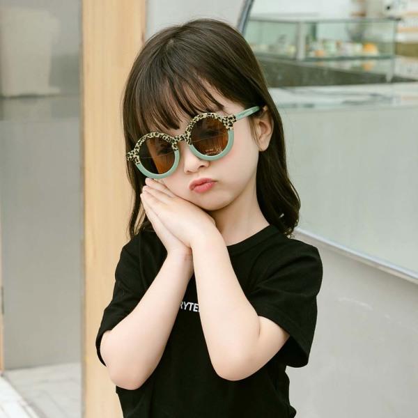 Giá bán LIAOBIX Đáng Yêu Đáng Yêu Trẻ Em Báo Khung Tròn Trẻ Mới Biết Đi Goggle, Kênh Tâm Cho Bé Kênh Mắt Ngoài Trời Bảo Vệ UV400