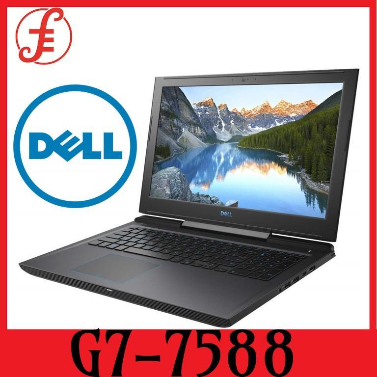 Dell G7-7588 i7-8750H 8GB 15 6INCH 1TB+128GB GTX1050Ti (4GB) WIN 10  (G7-7588)