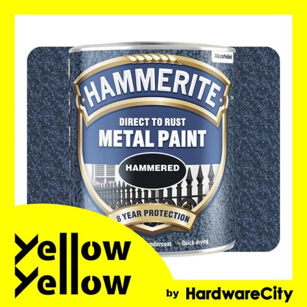 Hammerite Direct To Rust Metal Paint Hammered Finish For Interior & Exterior 750ml (COLORS AVAILABLE)