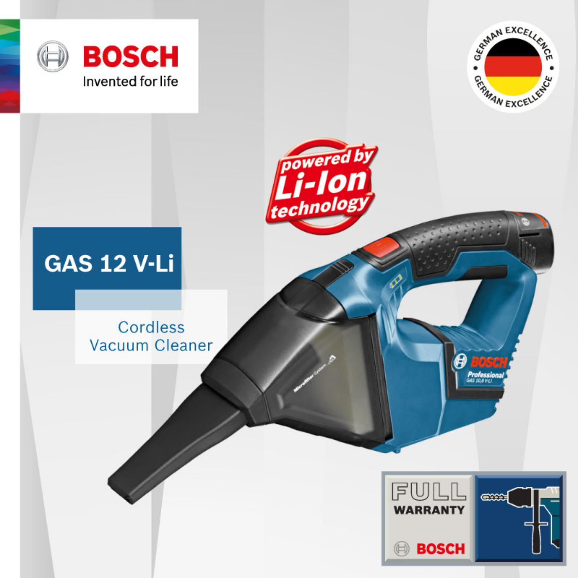[FREE GIFT] Bosch Bundle GAS10.8 + Aquatek100 + Free 27 Inch Bosch Umbrella