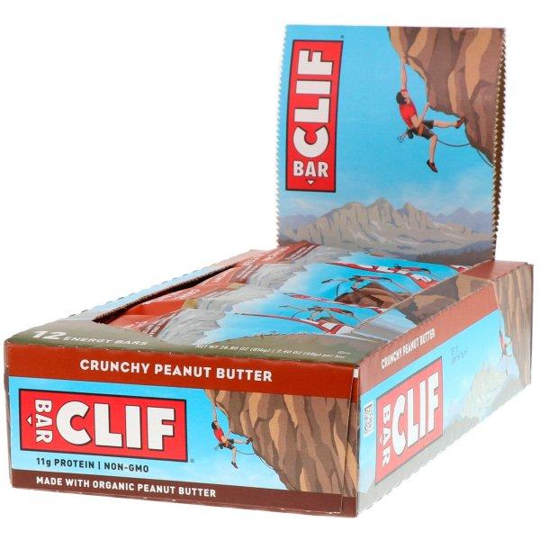 Buy Clif Energy Bar (Crunchy Peanut Butter) x12 Bars Singapore
