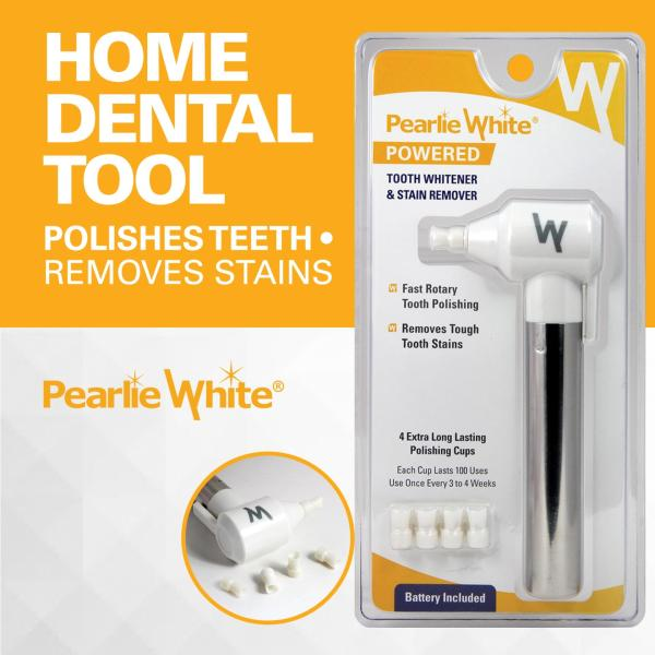 Buy Pearlie White Powered Tooth Whitener and Stain Remover Singapore