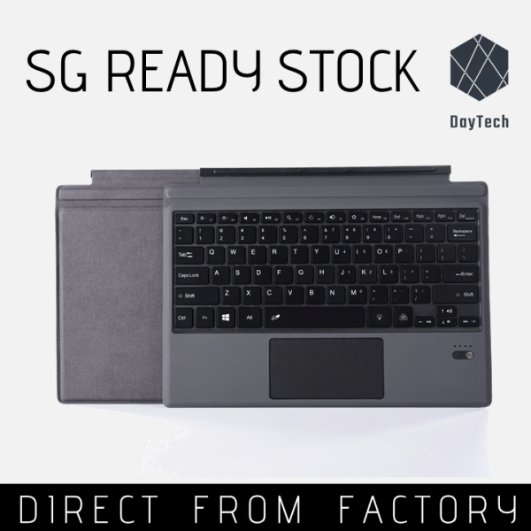 Surface Pro Go Type Cover Keyboard 1 2 3 4 5 6 7