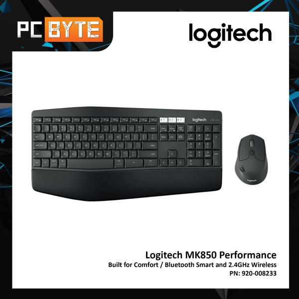 Logitech MK850 Performance - Wireless Keyboard and Mouse Combo Singapore