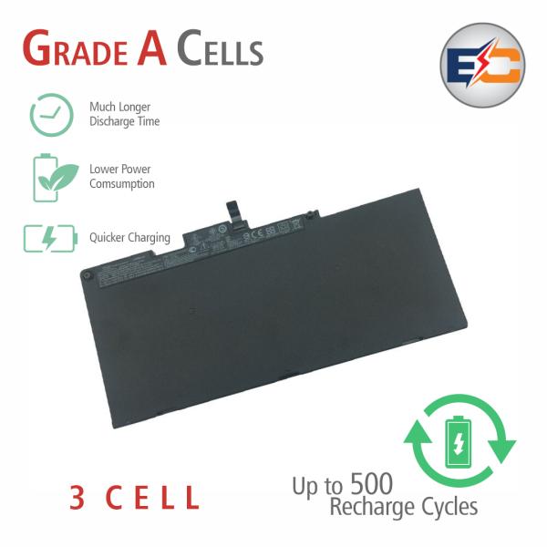 Replacement Laptop Grade A Cells Battery CS03XL Compatible with HP ZBook 15u G3, HP EliteBook 745 G3, EliteBook 745 G4, EliteBook 755 G3, EliteBook 755 G4, EliteBook 840 G3, EliteBook 840 G4, EliteBook 850 G3, EliteBook 850 G4, ZBook 14U G4, ZBook 15U G3