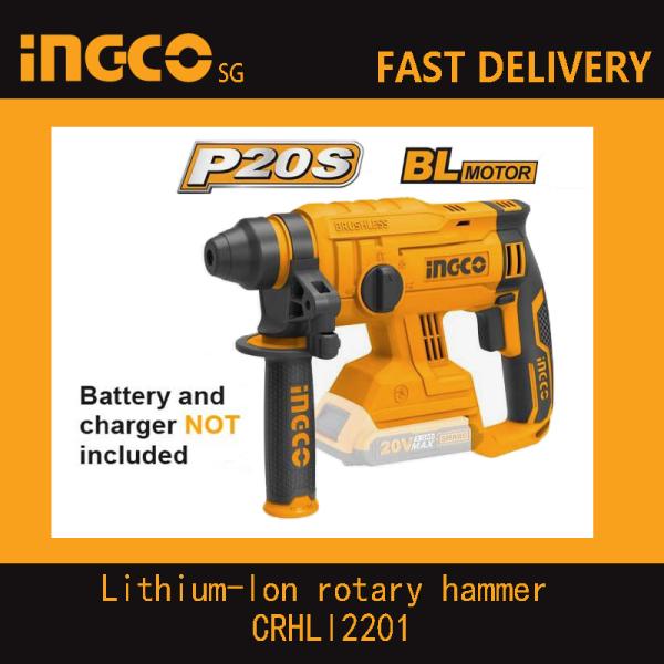 INGCO CRHLI2201 Lithium-Ion rotary hammer