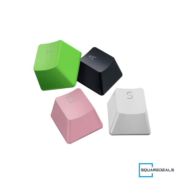 Razer PBT Keycap Upgrade Set For Mechanical And Optical Keyboard All Colours Singapore