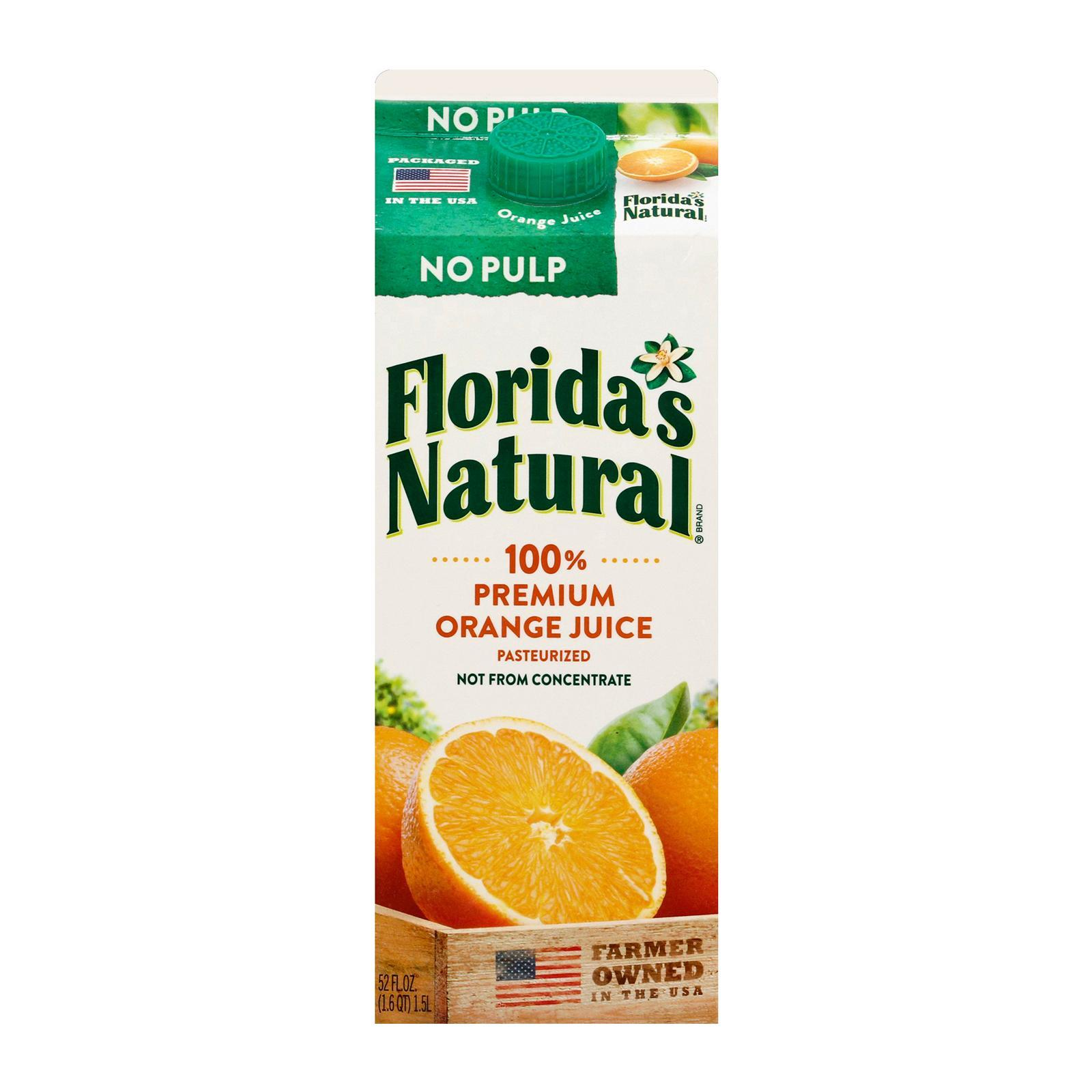 Florida's Natural NFC Premium (No Pulp) Orange Juice