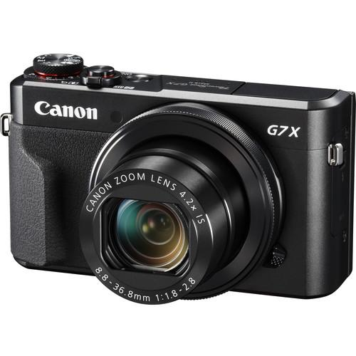 Canon Powershot G7 X Mark Ii Digital Camera (warranty) Free:16gb Memory Card By Pt-Photo.
