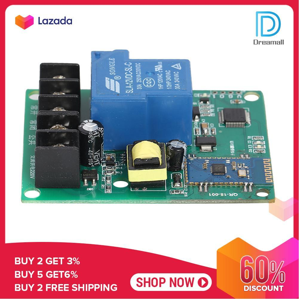{Hot Sale Festival}Dreamall AC110-50V 10A/30A High Power Bluetooth 1 Way Relay Motherboard Module Kit