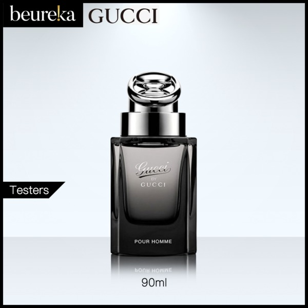 Buy Gucci by Gucci Pour Homme EDT 90ml Tester - Beureka [Luxury Beauty (Perfume) - Fragrances for Men Brand New 100% Authentic] Singapore
