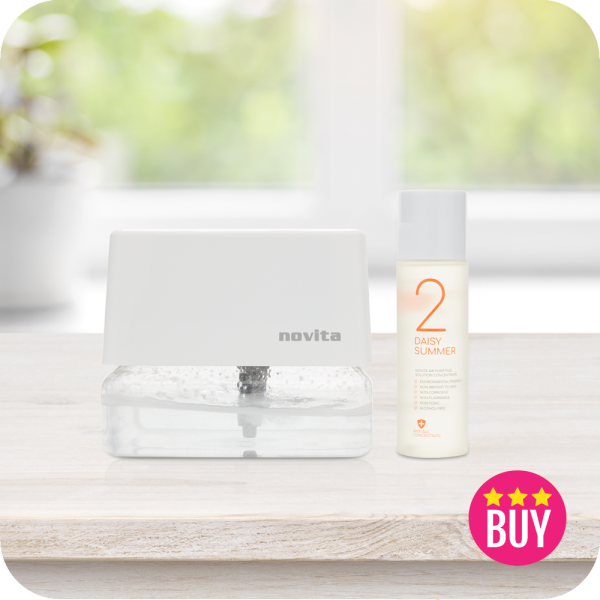 Air Revitalizer AR3 with 1 bottle of Air Purifying Solution Concentrate Singapore