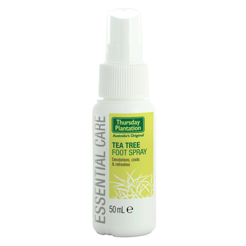 Thursday Plantation Tea Tree Foot Spray 50ml March 2021 By Australia Health Warehouse.