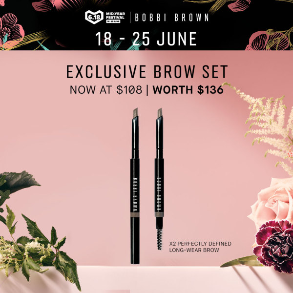 Buy Bobbi Brown Perfectly Defined Long-wear Brow Pencil 0.33gm Singapore
