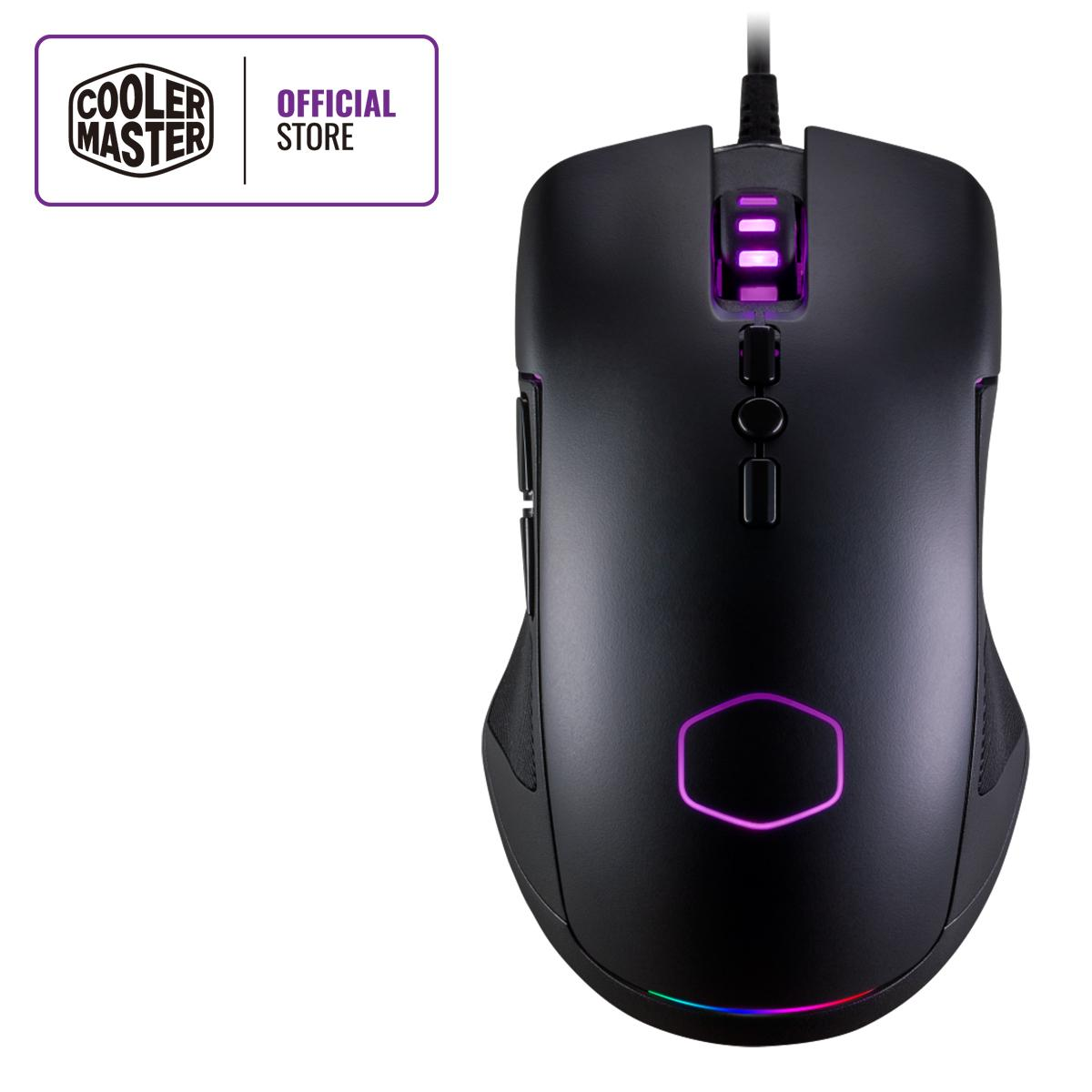 f21b6012992 Cooler Master CM310 Ambidextrous 8 Buttons 10000 DPI RGB Gaming Mouse