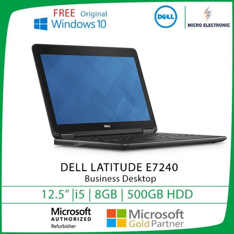 Dell Latitude E7240 12.5  i5-4300U 8GB RAM 500GB HDD Win10 Refurbished Pc Computer Digital Electronic