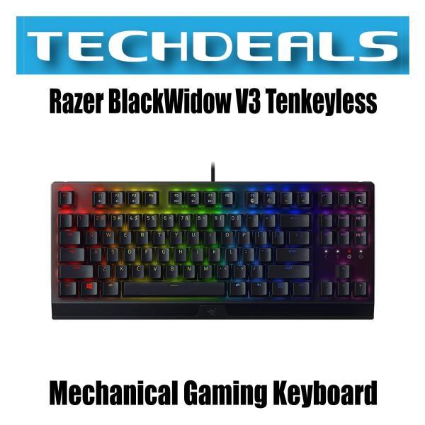Razer BlackWidow V3 Tenkeyless Mechanical Gaming Keyboard Singapore