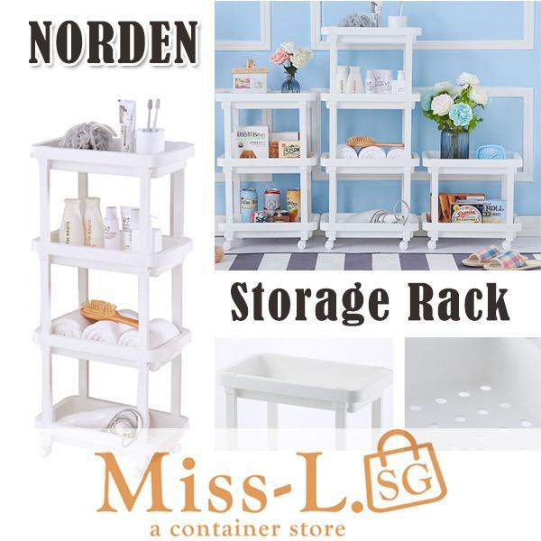 NORDEN-STORAGE RACK 3tier/4tier