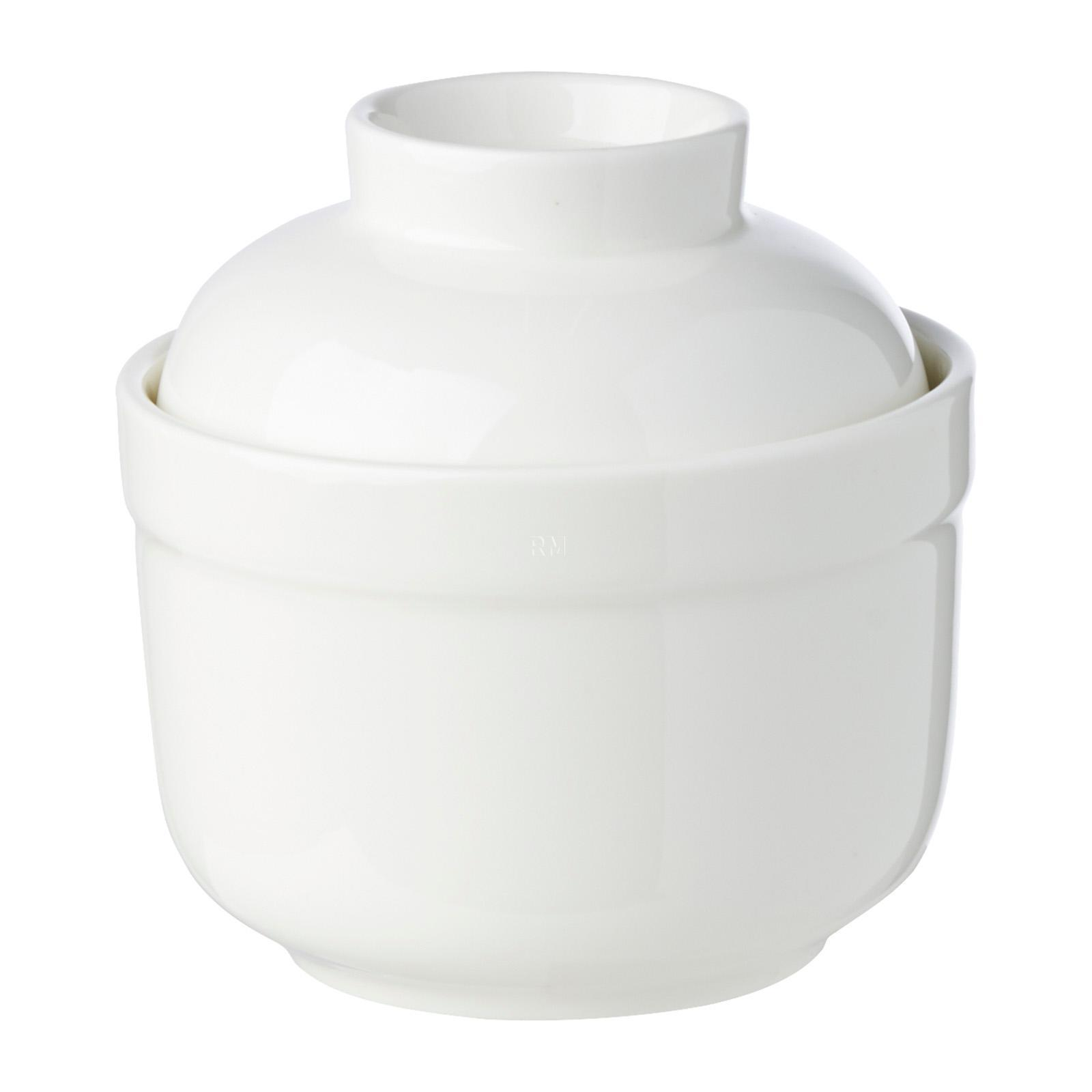 Wilmax England Porcelain Soup Cup With Lid
