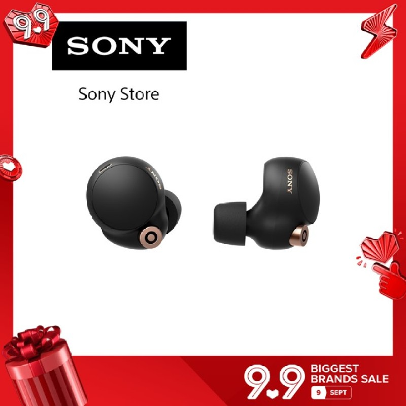 WF-1000XM4 Wireless Noise Cancelling Headphones - Black ship From End Sept 2021 onwards Singapore