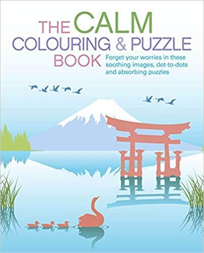 THE CALM COLOURING AND PUZZLE BOOK