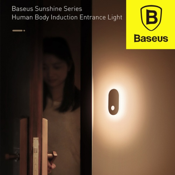 Baseus Sunshine Series Human Body Sensor Motion Entrance Light Night Light