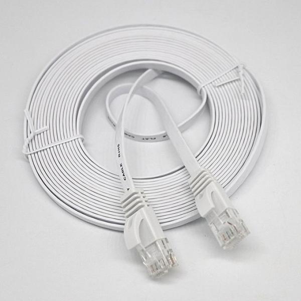 [SG Seller] Truslink UNIVERSAL RJ45 CAT 6 Ethernet Network Flat LAN Cable UTP Patch Router Cables Ethernet Cable Network Cable--1m/2m/3m/5m/10m/15m/20m/25m/30m/40m/50m
