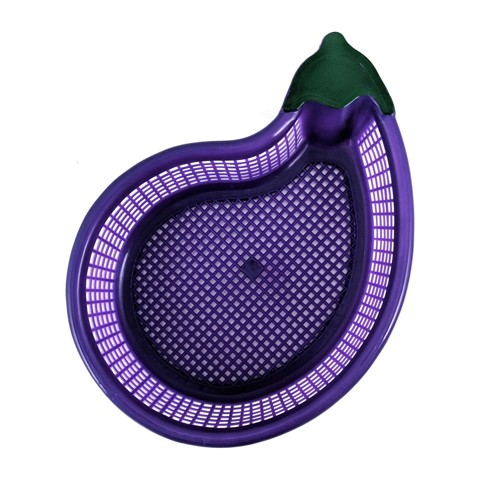ALS Small Plastic Brinjal Basket