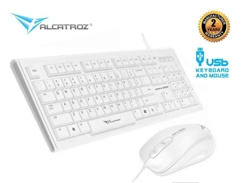 Alcatroz Wired Keyboard and Mouse Combo Xplorer 2000SL Singapore