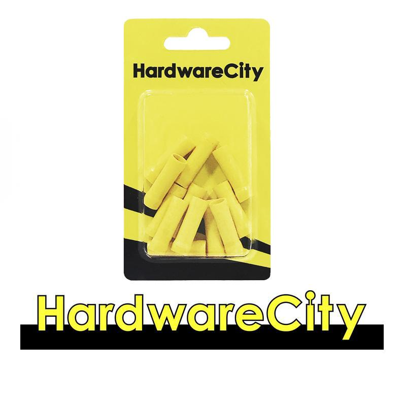 HardwareCity Insulated Wire Spliced Parallel Connectors, Yellow (12AWG - 10AWG), 10PC/Pack