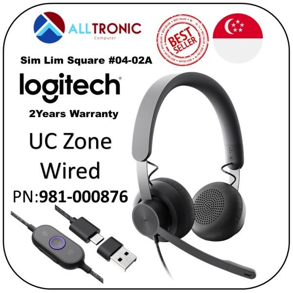 Logitech UC  Zone Wired Headset P/N: 981-000876