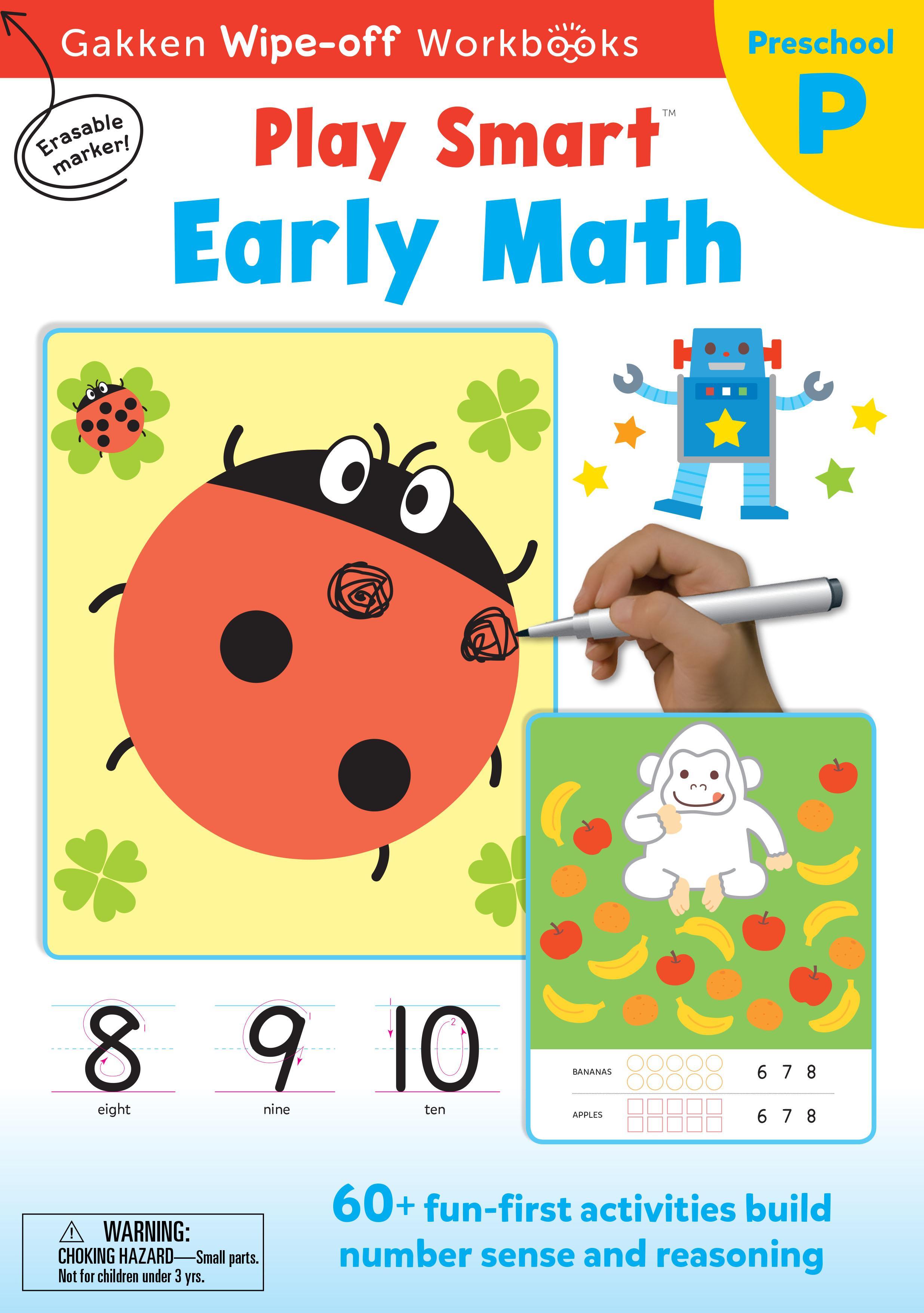 PlaySmart :  Wipe&Off Early Math