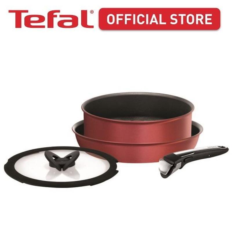 Tefal Ingenio Expertise Red 4pc set L66290 Singapore
