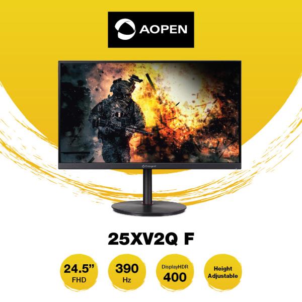 AOPEN 25XV2Q F 24.5-Inch IPS FHD 390Hz 0.5ms Zero Frame Slim Flat LCD Screen FreeSync Premium Gaming Monitor [1920 x 1080]