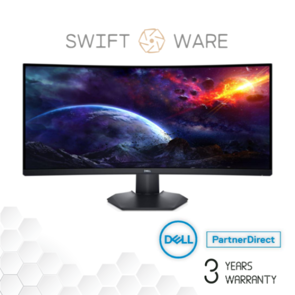 Dell 34 Inch Curved Gaming Monitor – S3422DWG