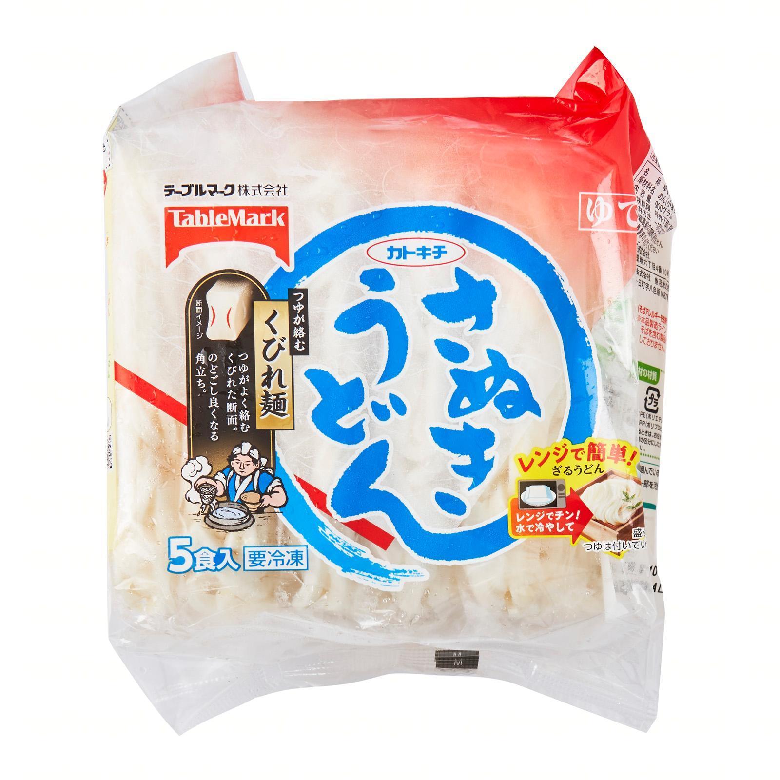 Table Mark Katokichi Sanuku Udon Japanese Udon Noodle - by J-mart Japanese Food Market - Frozen