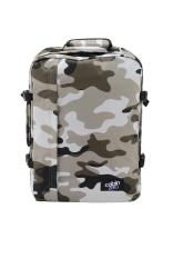 Cabinzero Classic 44L Backpack Grey Camo Free Shipping