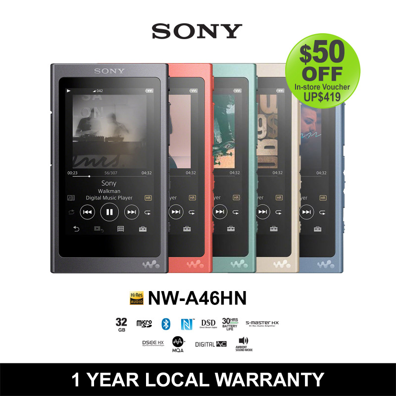 Sony 32GB High Resolution Walkman with Touch Screen Singapore