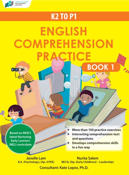 K2 to P1 English Comprehension Practice Book 1/Assessment Books
